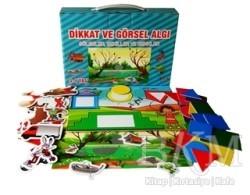 Yuka Kids - Dikkat ve Görsel Algı : Gölgeler, Renkler ve Şekiller