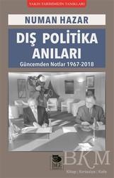 İmge Kitabevi Yayınları - Dış Politika Anıları