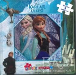 Doğan Egmont Yayıncılık - Disney Karlar Ülkesi İlk Yapboz Kitabım