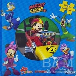 Doğan Egmont Yayıncılık - Disney Mickey ve Çılgın Yarışçılar İlk Yapboz Kitabım