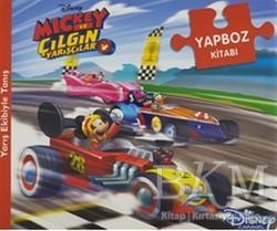Doğan Egmont Yayıncılık - Disney Mickey ve Çılgın Yarışçılar - Yapboz Kitabı