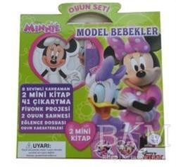 Doğan Egmont Yayıncılık - Disney Minnie Oyun Seti Model Bebekler