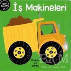 Net Çocuk Yayınları - İş Makineleri - Döndür ve Öğren!