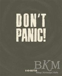 Altıkırkbeş Yayınları - Don't Panic! Kare Defter