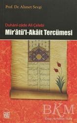 Palet Yayınları - Duhani-zade Ali Çelebi Mir'atü'l-Akait Tercümesi