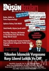 İlkim Ozan Yayınları - Düşün Yazıları Dergisi Sayı: 15