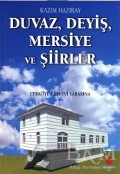 Can Yayınları (Ali Adil Atalay) - Duvaz Deyiş Mersiye ve Şiirler