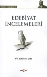 Akçağ Yayınları - Ders Kitapları - Edebiyat İncelemeleri Bütün Eserleri 5