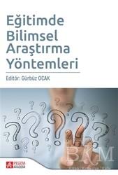 Pegem A Yayıncılık - Akademik Kitaplar - Eğitimde Bilimsel Araştırma Yöntemleri