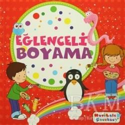 Mavi Lale Yayınları - Eğlenceli Boyama