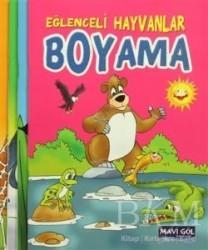 Mavi Göl Yayınları - Eğlenceli Hayvanlar Boyama (4 kitap)