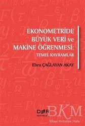 Der Yayınları - Ekonometride Büyük Veri ve Makine Öğrenmesi