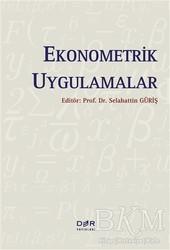 Der Yayınları - Ekonometrik Uygulamalar