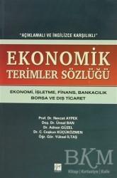 Gazi Kitabevi - Ekonomik Terimler Sözlüğü