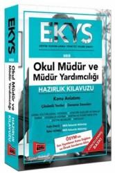 Yargı Yayınları - EKYS MEB Okul Müdür ve Müdür Yardımcılığı Hazırlık Kılavuzu Yargı Yayınları