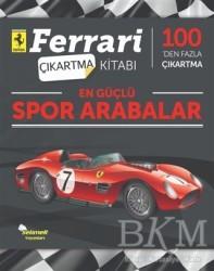 Selimer Yayınları - En Güçlü Spor Arabalar - Ferrari Çıkartma Kitabı
