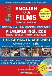 Bora Yayıncılık - English with Films The Grass is Greener (Dvd Film ile Birlikte)