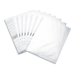 Esselte - Esselte Poşet Dosya A4 11 Delikli 100 Adet Buzlu
