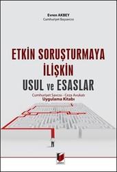 Adalet Yayınevi - Ders Kitapları - Etkin Soruşturmaya İlişkin Usul ve Esaslar