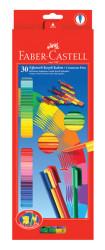Faber-Castell - Faber-Castell Eglenceli Keçeli Kalem, 30 Lu Poset - 5068113000