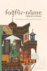 Palet Yayınları - Fağfür-Name