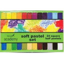 Fenart - Fanart Academy Yumuşak Pastel Seti 24 Renk