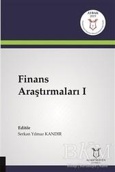 Akademisyen Kitabevi - Finans Araştırmaları 1