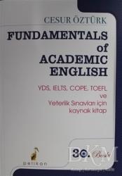 Pelikan Tıp Teknik Yayıncılık - Cesur Öztürk - Fundamentals of Academic English