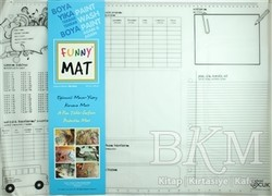 Akademi Çocuk - Funny Mat - Funny Mat 1001 Çalışma Masam