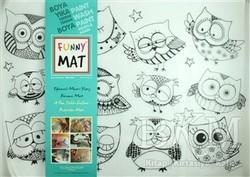 Akademi Çocuk - Funny Mat - Funny Mat 1004 Şaşkın Baykuşlar