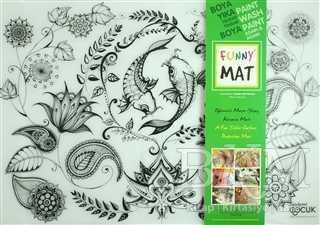 Funny Mat 1006 Çiçekli Bahçe Mandala