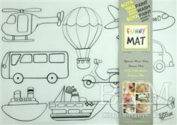 Akademi Çocuk - Funny Mat - Funny Mat 1012 Taşıtlar