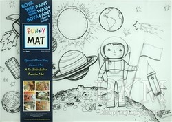 Akademi Çocuk - Funny Mat - Funny Mat 1013 Uzay