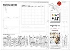 Akademi Çocuk - Funny Mat - Funny Mat Çalışma Masam/Business Planer