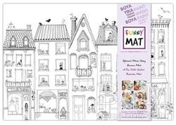 Akademi Çocuk - Funny Mat - Funny Mat Çatıdaki Leylek Küçük Boy