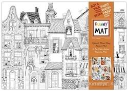 Akademi Çocuk - Funny Mat - Funny Mat Komşular Büyük Boy