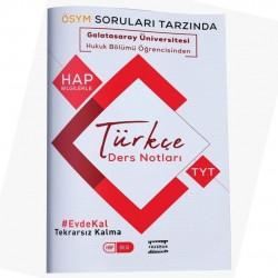 Fragman Yayınları - Galatasaray Üniversitesi Öğrencisinden TYT Türkçe Hap Bilgi Ders Notları Fragman Yayınları