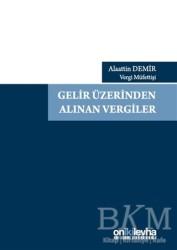 On İki Levha Yayınları - Gelir Üzerinden Alınan Vergiler