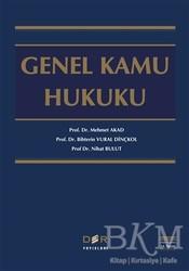Der Yayınları - Hukuk Kitapları - Genel Kamu Hukuku