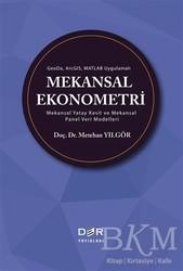 Der Yayınları - GeoDa ArcGIS Matlab Uygulamalı Mekansal Ekonometri