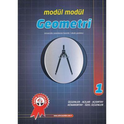 Geometri Modül Modül 1 Üçgenler Açılar Açıortay Kenarortay Özel Üçgenler Zafer Yayınları