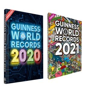 Guinness Dünya Rekorlar 2020 - 2021 Takım 2 Kitap - Türkçe