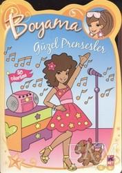 Net Çocuk Yayınları - Güzel Prensesler - Sarı Boyama Kitabım