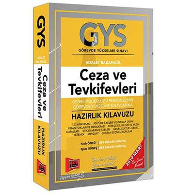 GYS Ceza ve Tevkifevleri Genel Müdürlüğü Personelinin Görevde Yükselme Sınavlarına Hazırlık Kılavuzu Yargı Yayınları