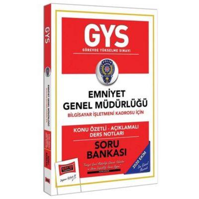 GYS Emniyet Genel Müdürlüğü Bilgisayar İşletmeni Kadrosu İçin Konu Özetli Soru Bankası Yargı Yayınları