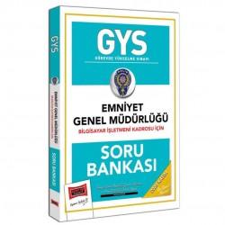 Yargı Yayınları - GYS Emniyet Genel Müdürlüğü Bilgisayar İşletmeni Kadrosu İçin Soru Bankası Yargı Yayınları