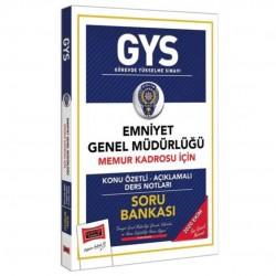 Yargı Yayınları - GYS Emniyet Genel Müdürlüğü Memur Kadrosu İçin Konu Özetli Soru Bankası Yargı Yayınları
