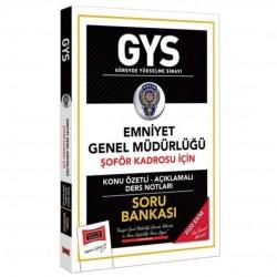 Yargı Yayınları - GYS Emniyet Genel Müdürlüğü Şoför Kadrosu İçin Konu Özetli Soru Bankası Yargı Yayınları