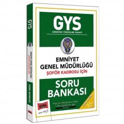 Yargı Yayınları - GYS Emniyet Genel Müdürlüğü Şoför Kadrosu İçin Soru Bankası Yargı Yayınları