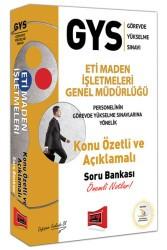 Yargı Yayınları - GYS ETİ MADEN İŞL. GEN.MD. K.Ö. SORU BANKASI